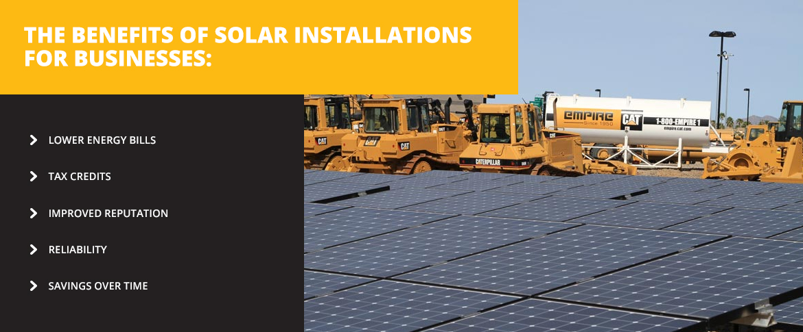 Benefits of Solar Installations for Business