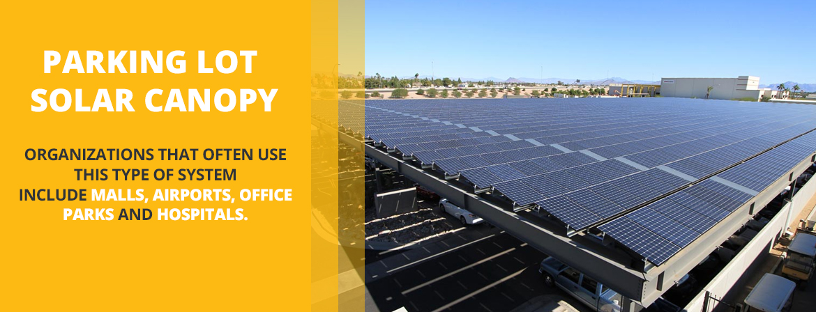 Parking Lot Solar Company for Malls, Airports, Office Parks and Hospitals